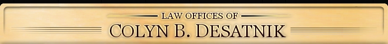 Irvine Injury Lawyer - The Law Offices of Colyn B. Desatnik